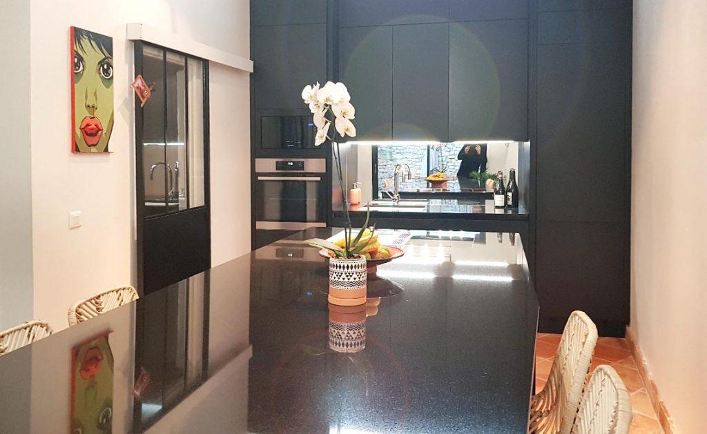 Cuisine marbre noir - Rodez